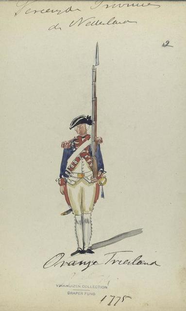 Oranje Friesland. 1775