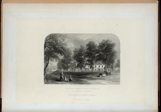 Phillipse Manor House. Yonkers, N.Y. (Present residence of Judge Woodworth.)