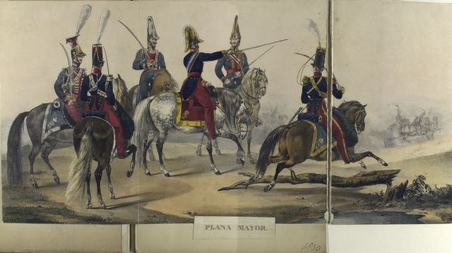 Plana Mayor. 1830