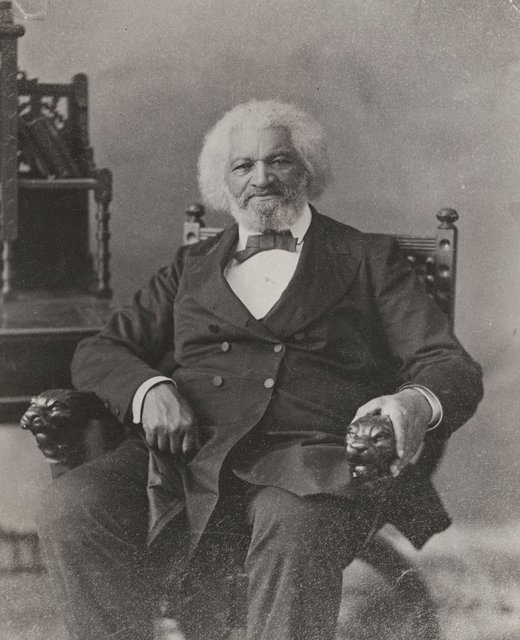 Portrait of Frederick Douglass, abolitionist, journalist, and social reformer