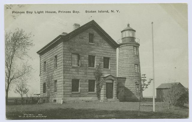 Princes(sic) Bay Light House, Princes(sic) Bay, Staten Island, N.Y.