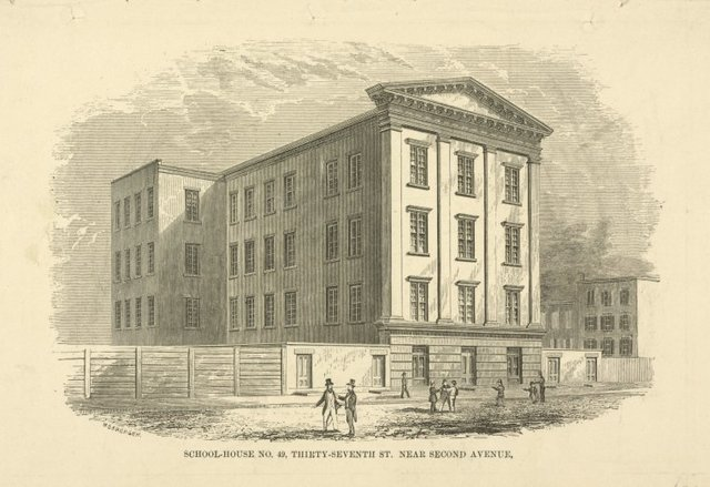 Public schools. School-House No. 49, Thirty-Seventh Street near Second Avenue.