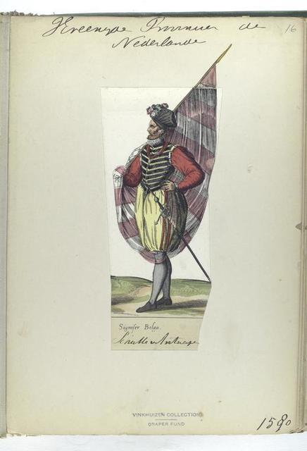 Signiser Belga [Vereenigde Provincien der Nederlanden: schutter v Antwepen, 1580]