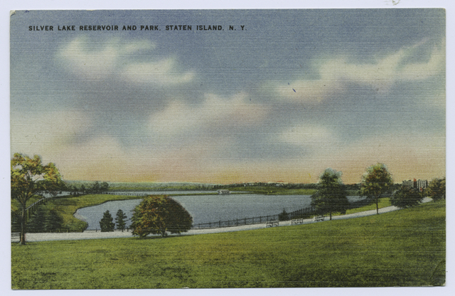 Silver Lake Reservoir and Park, Staten Island, N.Y.