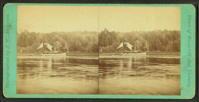 [Steamboat on the Merrimack.]