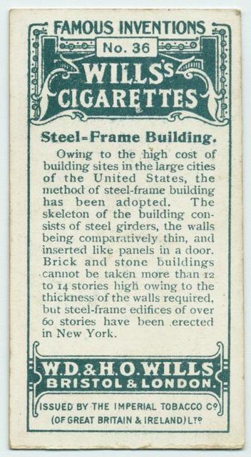Steel-frame building.