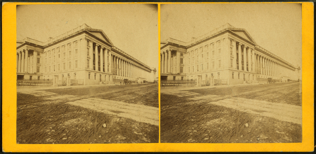 Treasury Department, Washington, D.C..