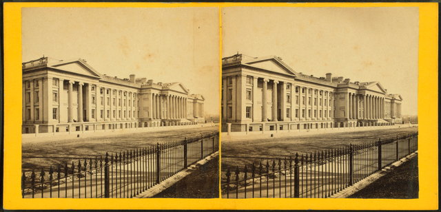 Treasury, West Front.