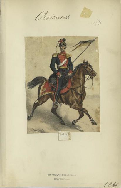 Uhlane. 1866