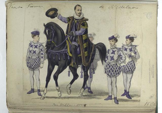 Vereenigde Provincien der Nederlanden [cavalier and pages], 1580