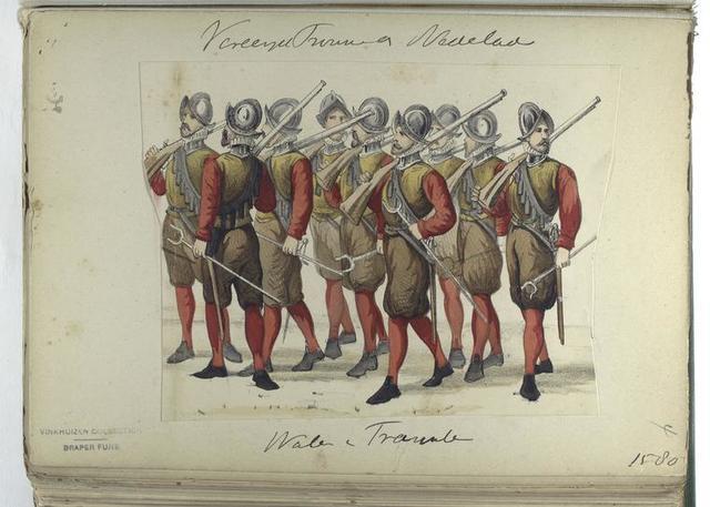 Vereenigde Provincien der Nederlanden : watchen v Trauschen[?], 1580