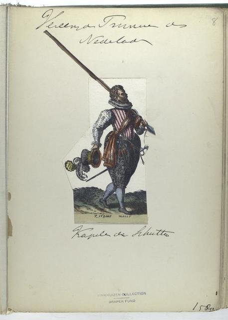 Zergant maior [Vereenigde Provincien der Nederlanden : Kapiten der Schutters, 1580]