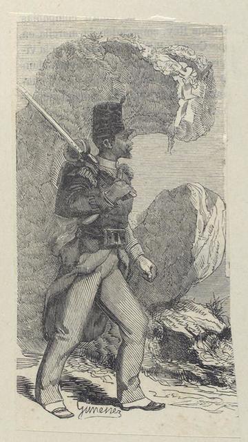 14 Batallon [de] Infanteria Ligera.