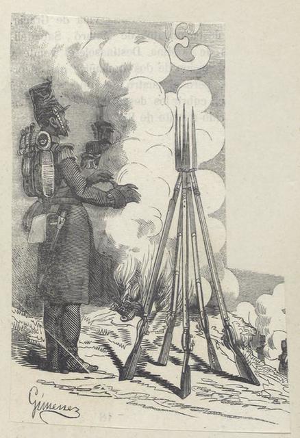 14 [?] Batallon Infanteria Ligera. Chialora [?Chidora?]