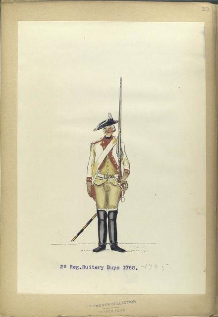 2-o Reg. Ruitery Buys. 1768- 1795