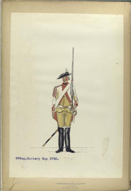 3-o Reg. Ruitery Hop. 1752-1795