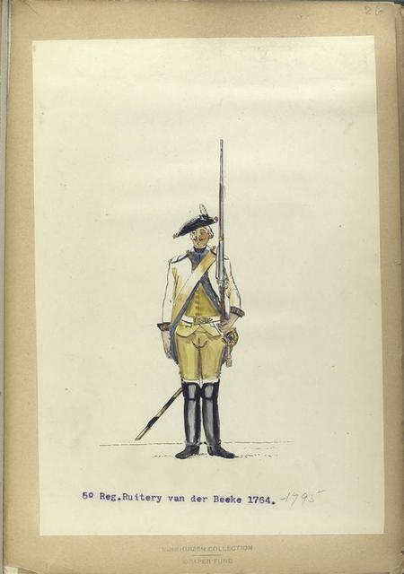 5-o Reg. Ruitery van der Beeke. 1764-1795.