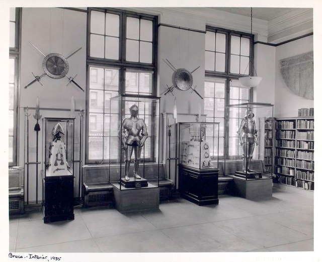 Armor display cases