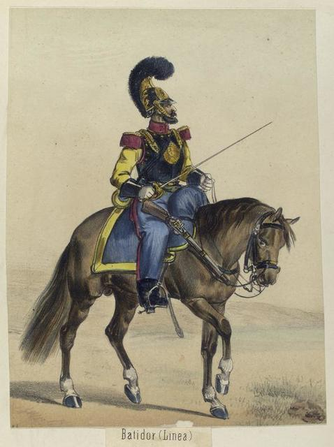 Batidor (Linea). 1843