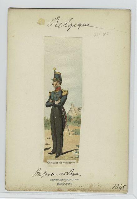 Capitaine de voltigeurs, infanterie de ligne.
