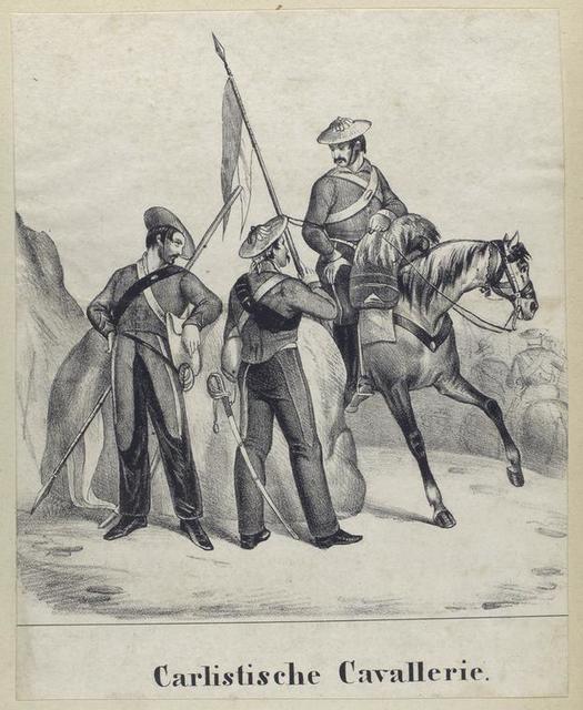 Carlistische Cavallerie. 1836