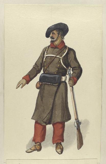 Carlistische Infanterie. 1835