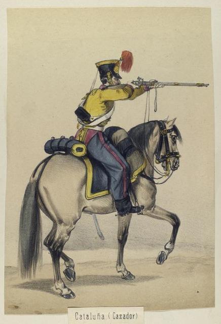 Cataluña. (Cazador). 1841