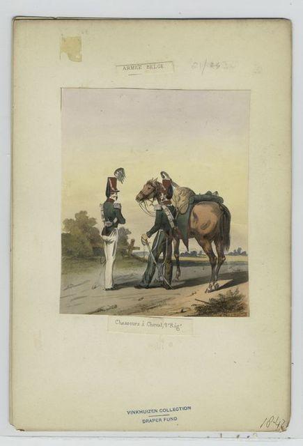 Chasseurs à cheval, 2e régiment.