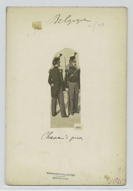 Chasseurs à pied. 1845