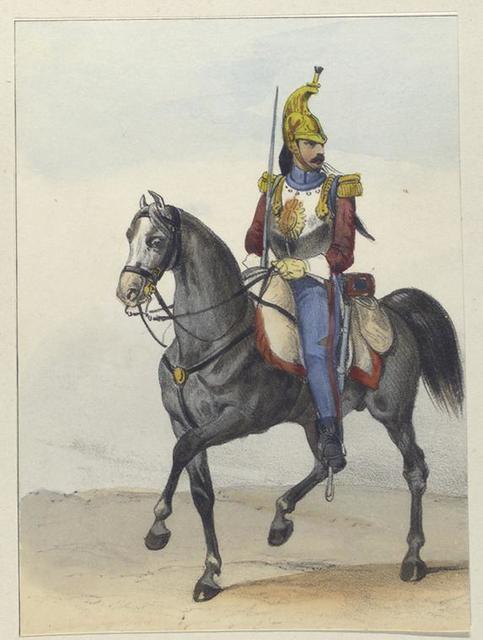 Coracero.  1844