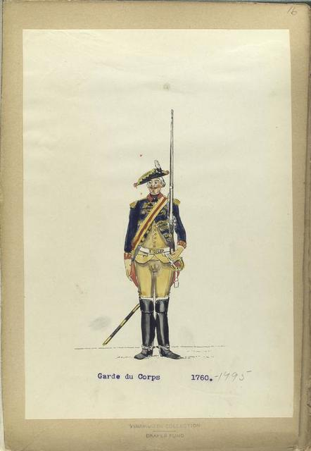Garde du Corps. 1760-1795