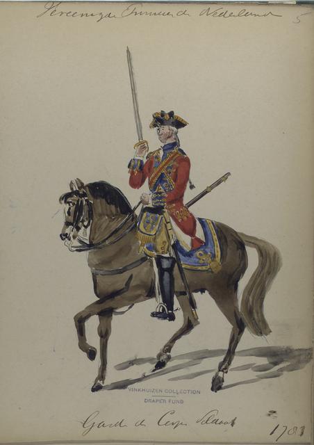 Garde du Corps Soldaat. 1783