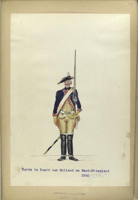 Garde te Paard van Holland en West-Friesland. 1760 -1795