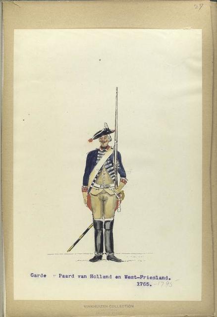 Garde te Paard van Holland en West-Friesland. 1765-1795