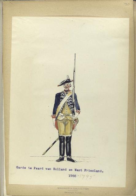 Garde te Paard van Holland en West-Friesland. 1766-1795