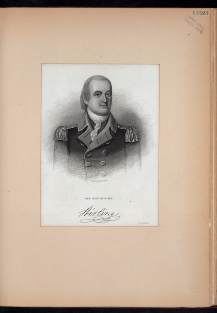 Gen. Lord Stirling.