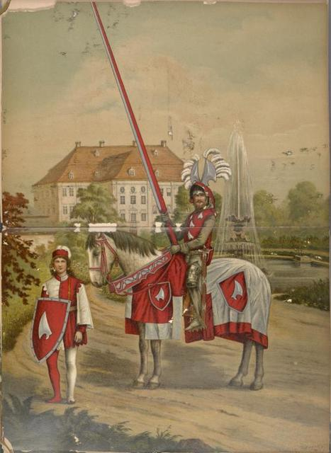 Germany. Saxony. Knights
