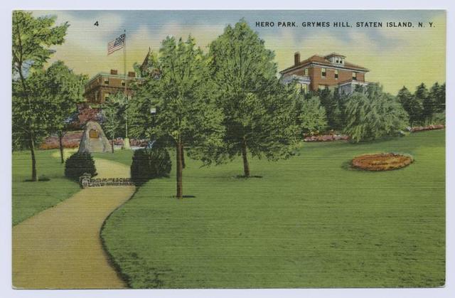 Hero Park, Grymes Hill, Staten Island, N.Y.