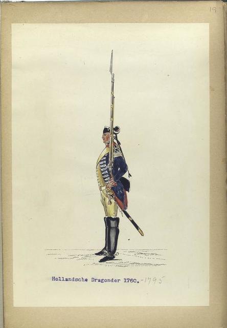 Hollandsche Dragonder. 1760-1795