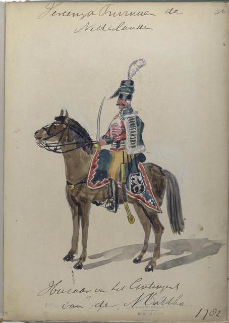 Huzaar [] 1782