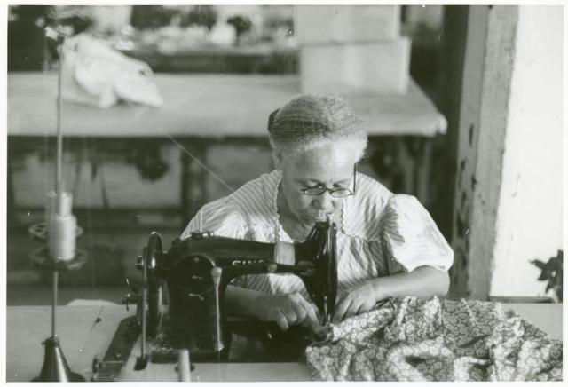 In the Everglades needlework factory, San Juan, Puerto Rico.