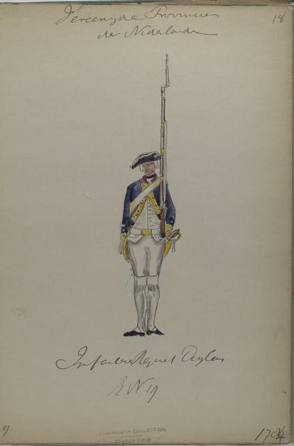 Infanterie Regiment Douglas,  Reg. No. 19. 1784