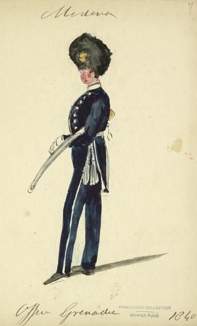 Italy. Modena, 1835-1849.