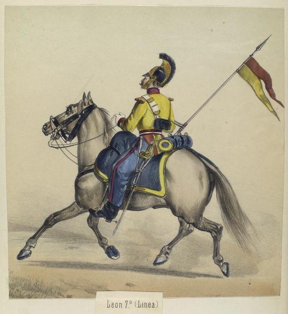 Leon 7-o. (Linea). 1843