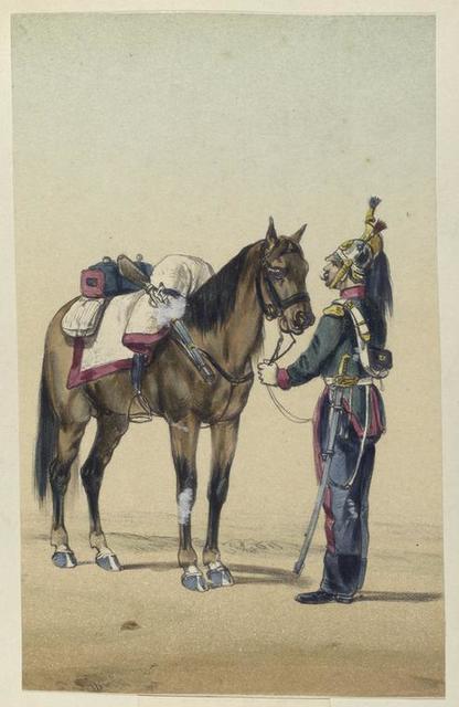 Montesa. (Cazadores). 1844