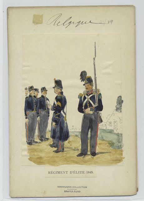 Régiment d'élite. 1845