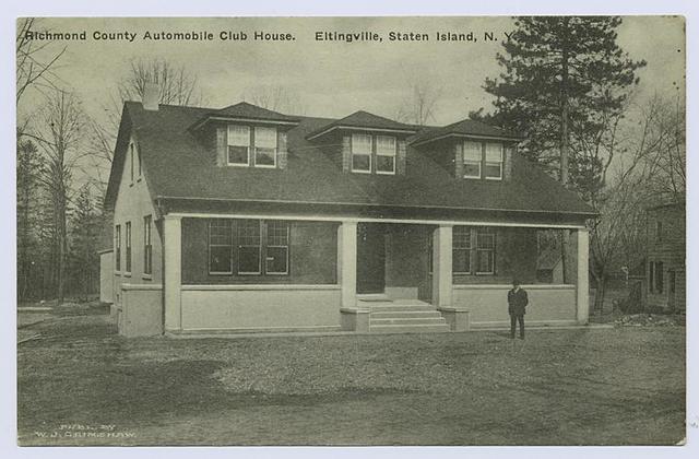 Richmond County Automobile Club House, Eltingville, Staten Island, N.Y.