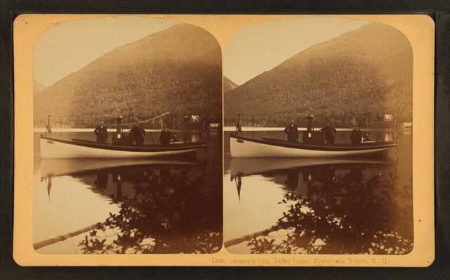 Steamer Ida, Echo Lake, Franconia Notch, N.H.