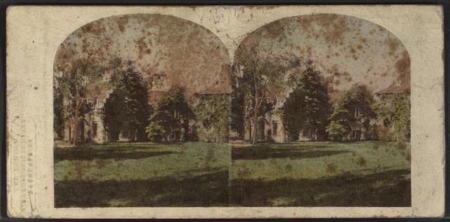 Sunny Side, The residence of Washington Irving.