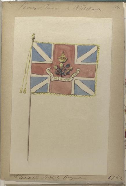 Vandel Scots Brigade. 1782